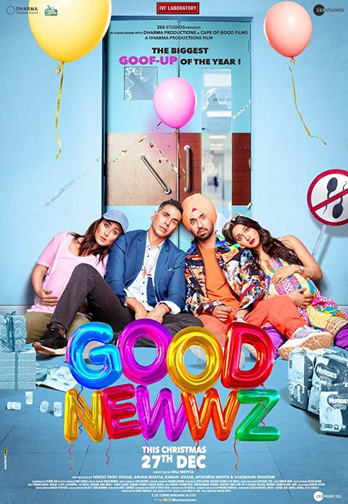 Good Newwz (2019) Hindi Movie 720p HDRip 1.2GB
