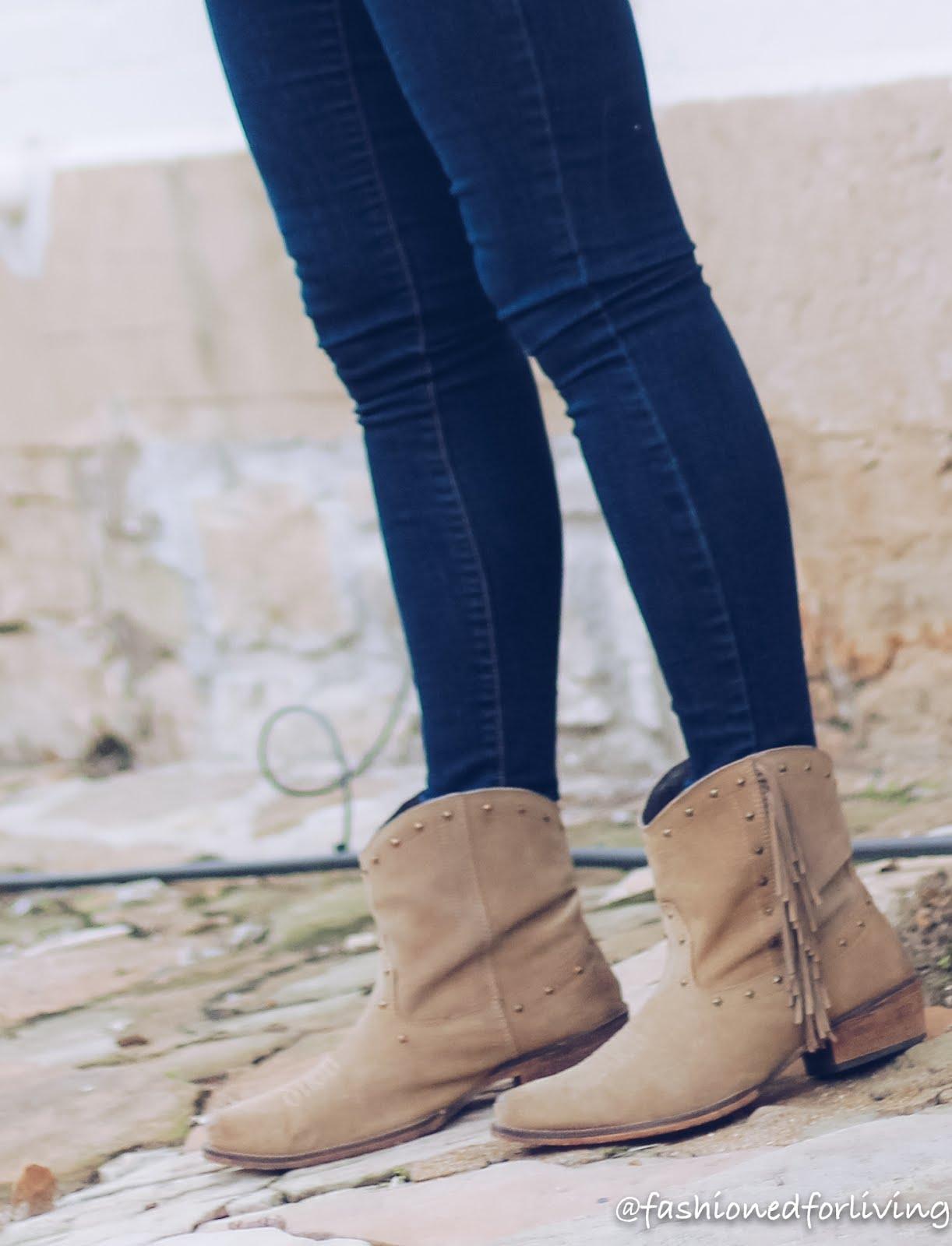 fringe cowgirl boots - roper sassy