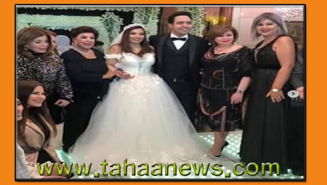فيديو وصور حفل زفاف الفنانة غادة رجب | وتعرف على عبد الله حسن زوجها.