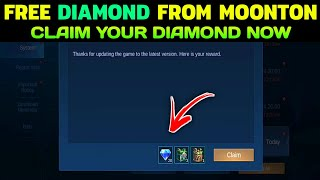Free Diamonds From Moonton Claim Now - Mobile Legends