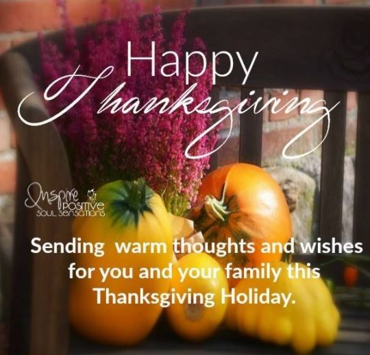 Sending Thanksgiving Wishes