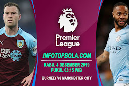 Live Streaming Burnley Vs Manchester City