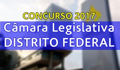 Concurso Câmara Legislativa-DF 2017 - CLDF