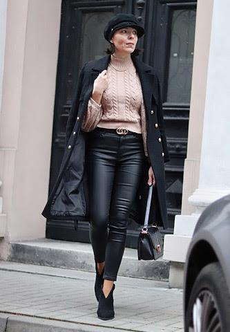 woskowane spodnie stylizacje