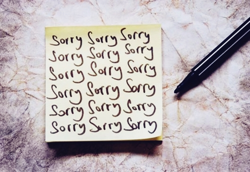 100 Saying Sorry Status for Whatsapp Quotes in English