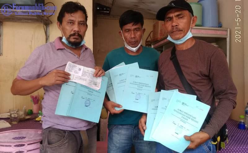 """""""Edi Gunawan Cs Minta Kepastian Hukum"""" Lahan Sesuai Surat Sporadik Terdaftar di Kelurahan Bangsal Aceh Dikuasai oleh Suprianto Cs"""