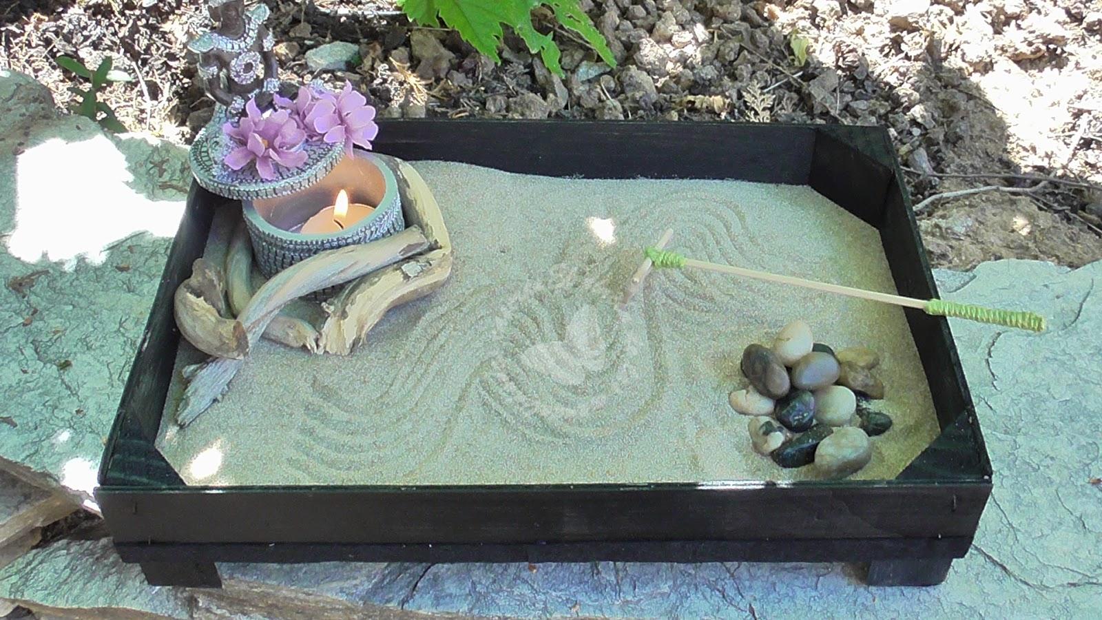 Jardin Zen Miniatura Significado Jard N Zen En Miniatura Collage - Jardin-zen-significado