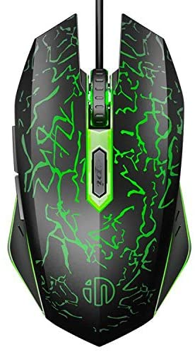 Review Ergonomics Inphic PW16 Quiet Gaming Mouse