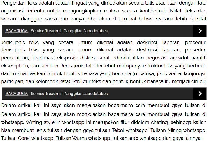 Cara Membuat Multi Related Post (Artikel Terkait) di Antara Paragraf Postingan