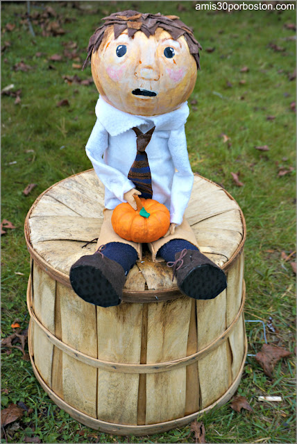 James en el Return of the Pumpkin People de Jackson en New Hampshire