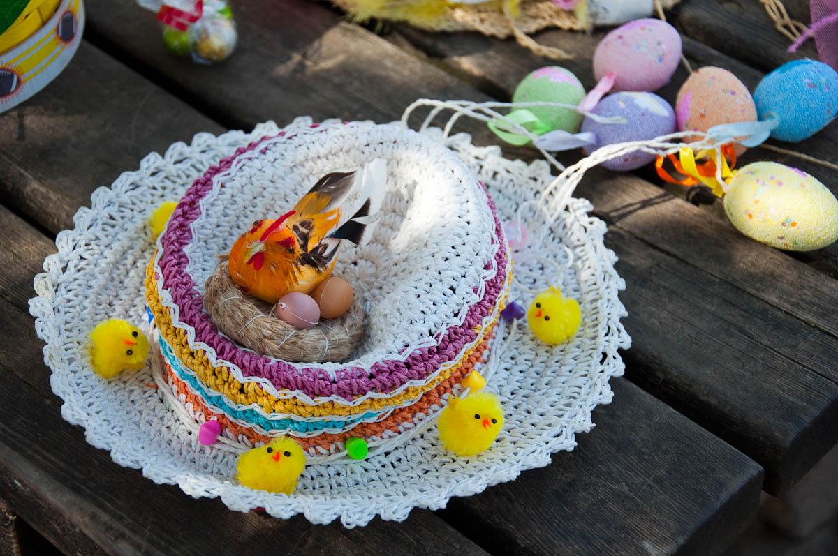 Easter bonnet, Vicenza, Veneto, Italy