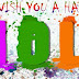 Holi 2016*} Happy Holi Status For Whatsapp In Hindi