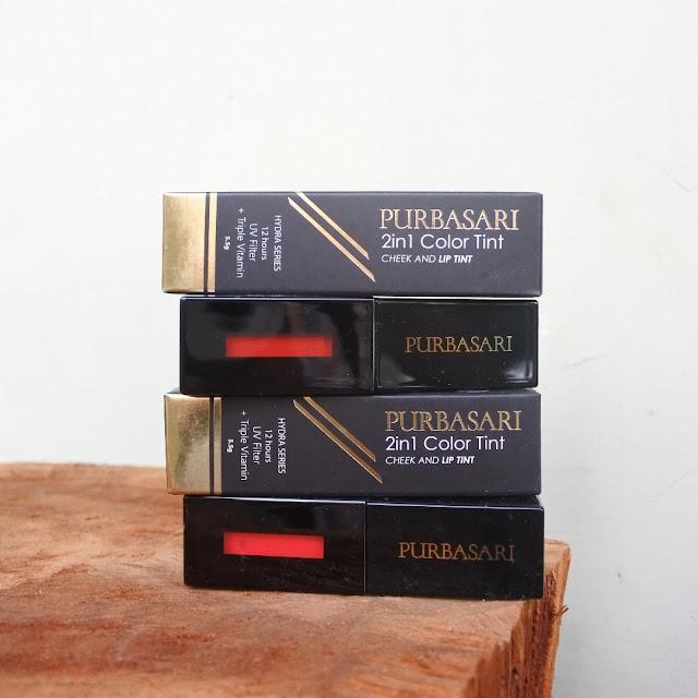 Review Purbasari Lip Tint