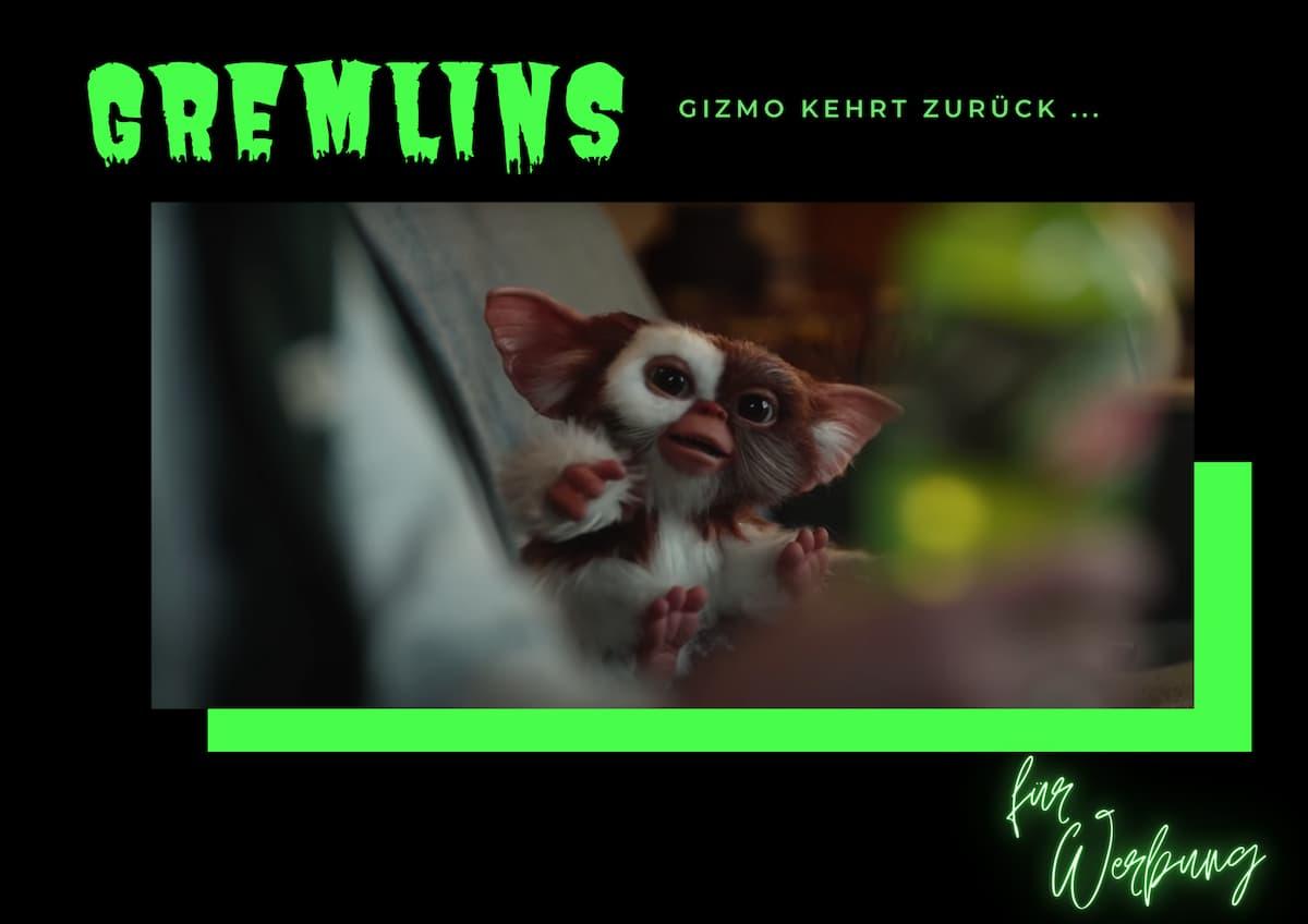 GREMLINS REGEL #4 | Eine Werbung bringt uns Gizmo zurück