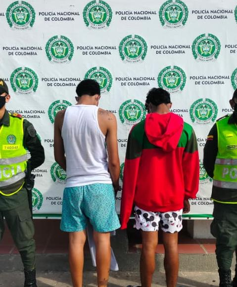 hoyennoticia.com, Atracadores capturados en Maicao