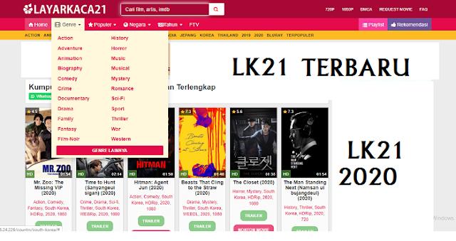 Alamat situs Layarkaca21 terbaru lk21