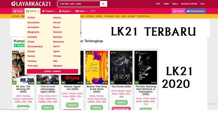 Alamat Situs Streaming LK21 LayarKaca21 Terbaru | Nonton ...