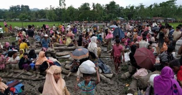 100 Ribu Pengungsi Rohingya akan Direlokasi ke Pulau