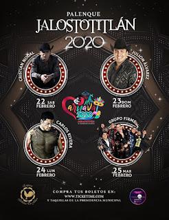 artistas palenque jalsototitlán 2020