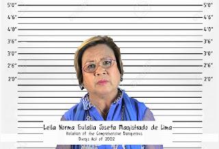 Sen Leila de Lima Arrested, Leila de Lima mugshot, mugshot, leila mugshot, de lima mugshot