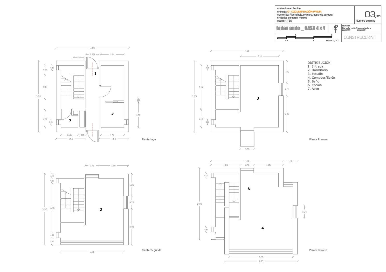 Casa 4x4 Tadao Ando casa 4x4  Tadao Ando