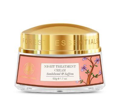 Forest Essentials Sandalwood and Saffron Night Treatment Cream