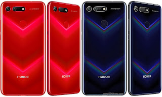 Honor View 20 lunch date, price End specification