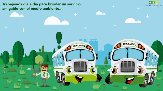 Scholastico empresa de transportes escolares, corporativo y turístico