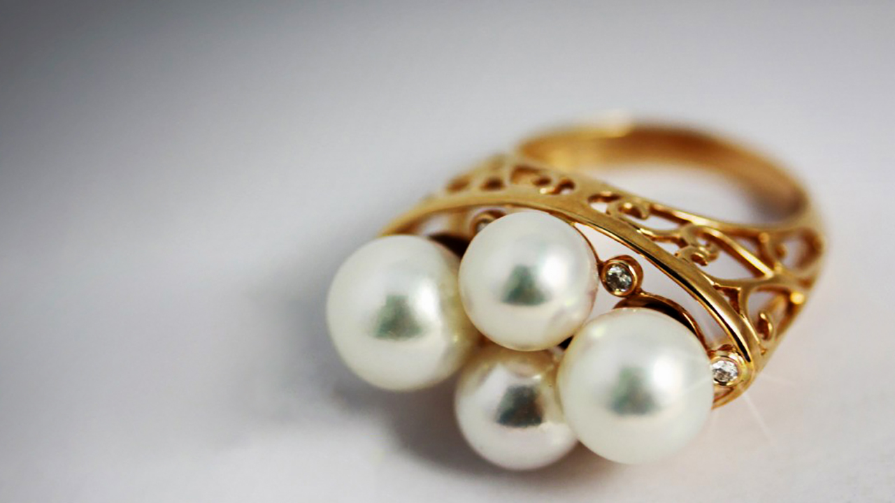"""Luxury Pearl Jewelry """"The Glamour of Immortality"""""""
