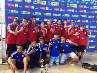 CR Flamengo Campeão Taça Brasil Infantil Masculina de Polo Aquático de 2014