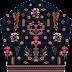 Flower Print Choli Top Textile Digital Design - Slive 2736