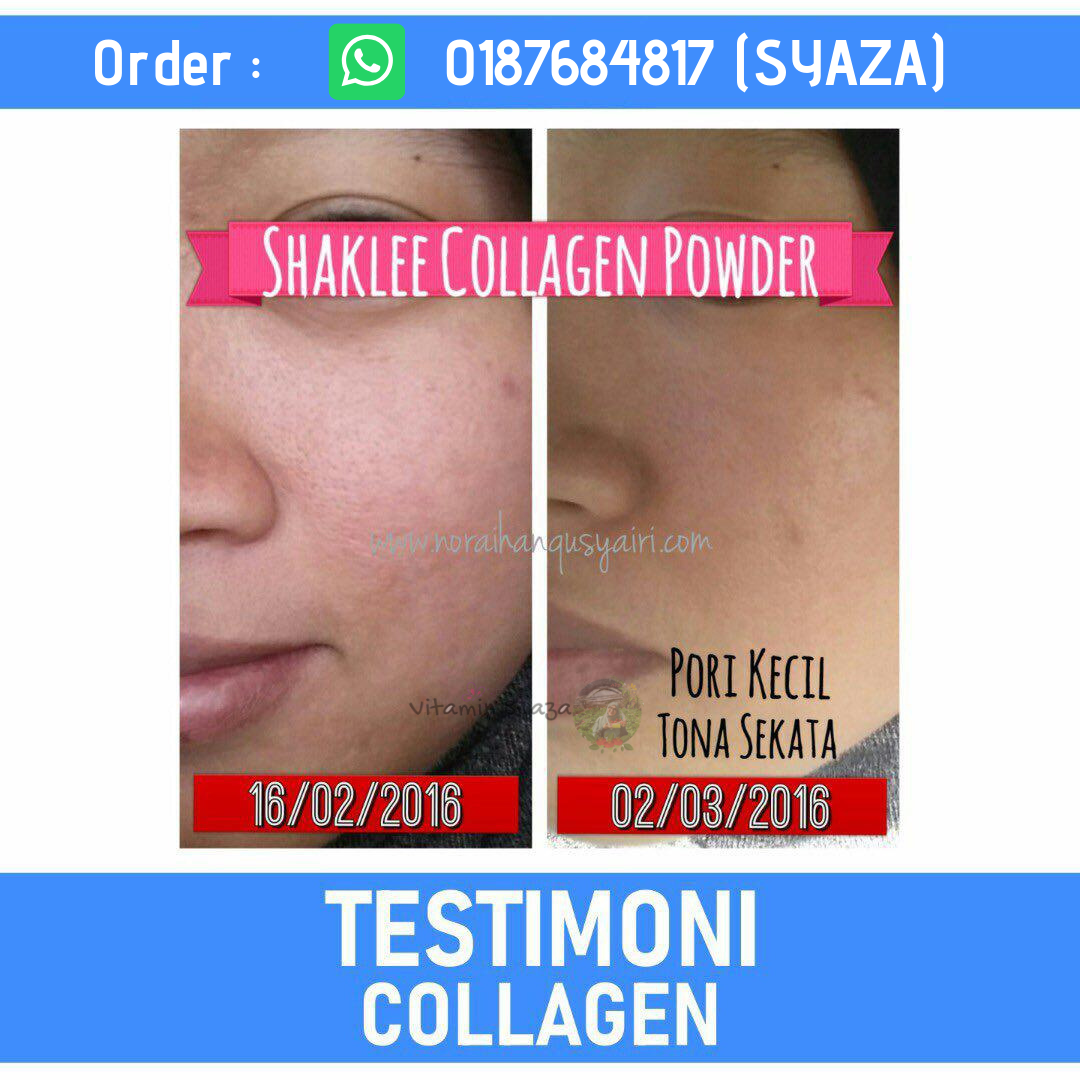 Testimoni Shaklee Collagen Plus Powder