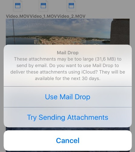 How To Email Large Files Using Mail Drop On iOS 9 iPhone - iPhone iOS 7.0.3/7.0.2/7.0.1/7/6.1.4/6.1.3/6.1.2/ Unlock and Jailbreak Guides