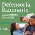 Alagoinhas receberá mais uma ação da Defensoria Pública na próxima quinta-feira.