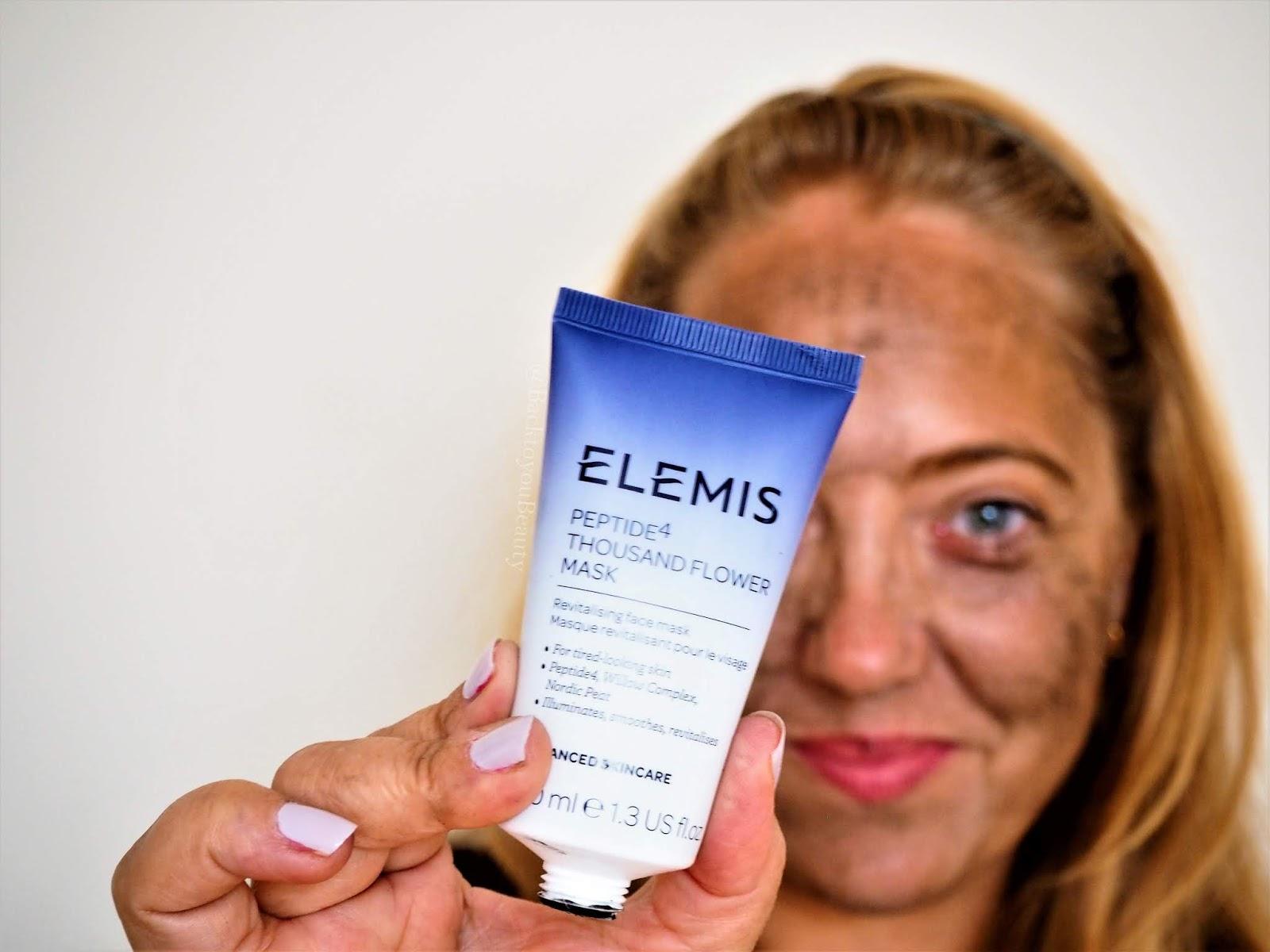 Elemis peptide mask