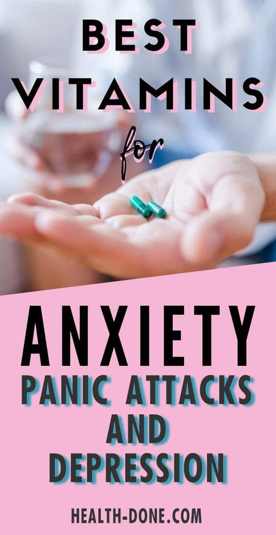 vitamins for Panic Attacks and Depression