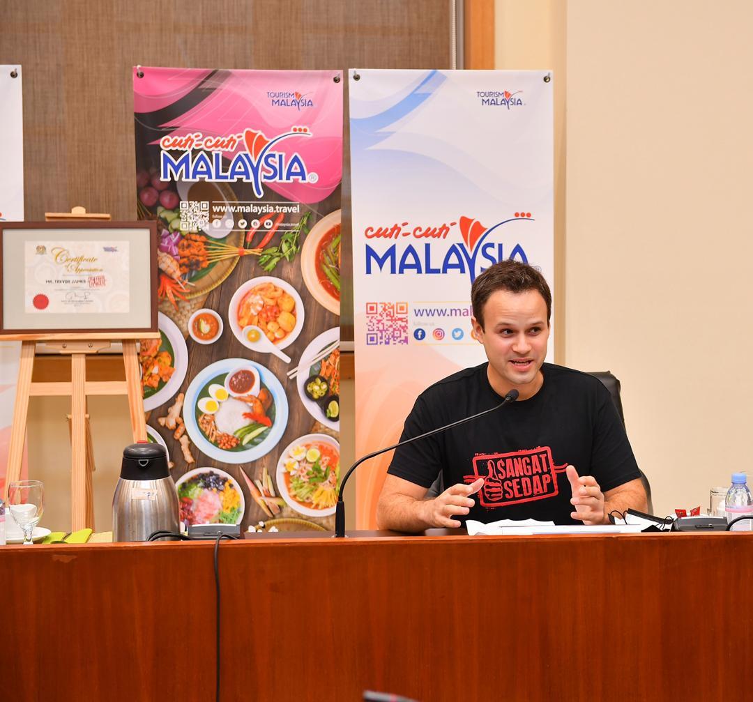 "Tourism Malaysia Berkolaborasi bersama The Food Ranger dalam ""The Ultimate Malaysian Road Trip"