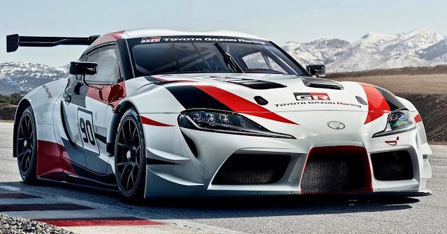 トヨタ、新型「スープラ」のレーシングカーコンセプト「GR Supra Racing Concept」を初披露!