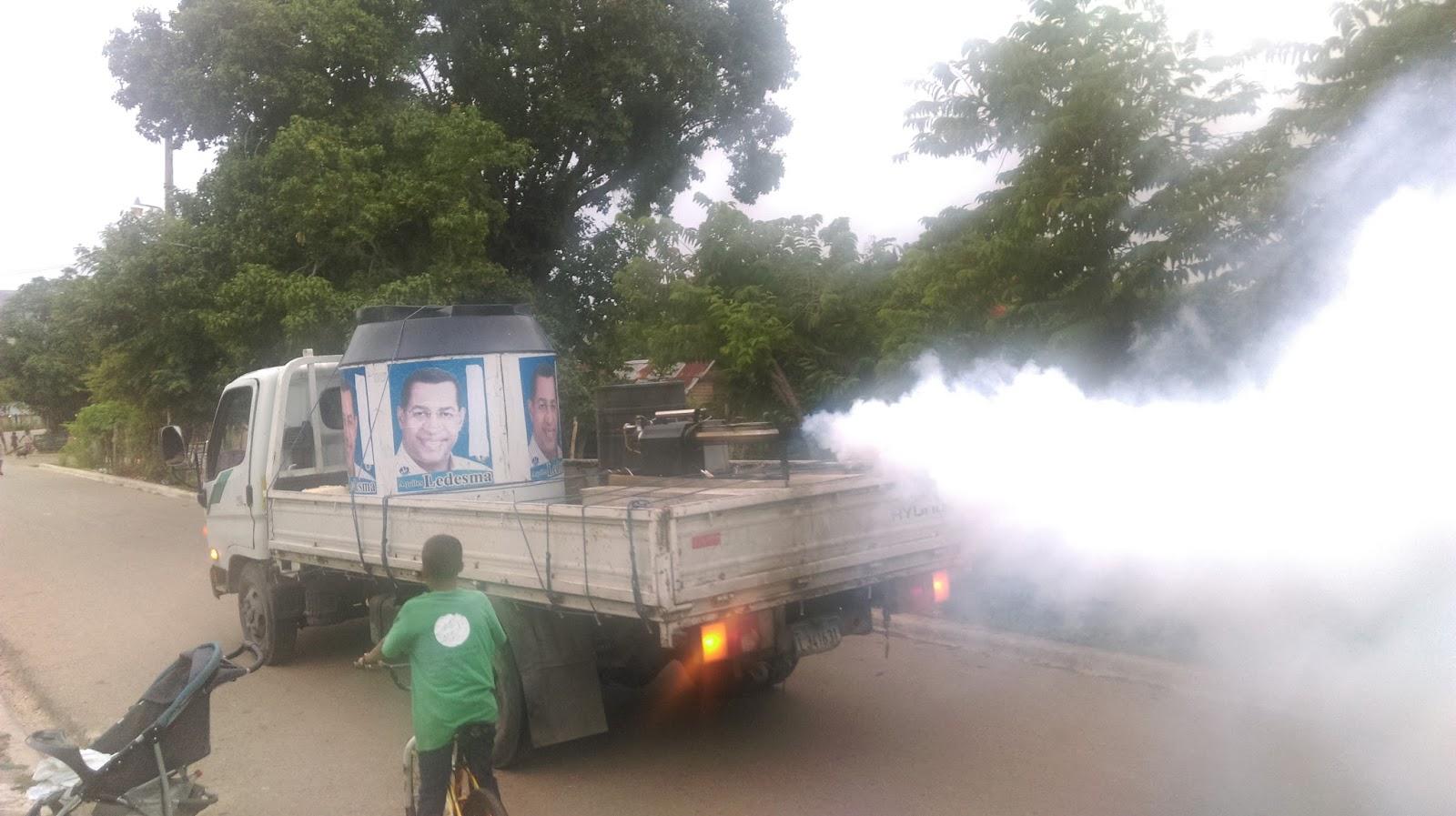 Residentes de La Guázara piden a Salud pública que prohíba la fumigación del camión del ex diputado Aquiles Ledesma