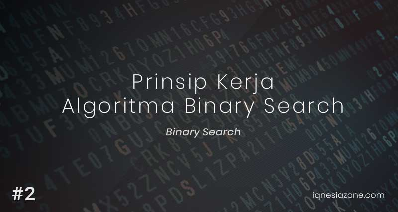 Cara Kerja Binary Search
