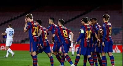برشلونة ضد التشي