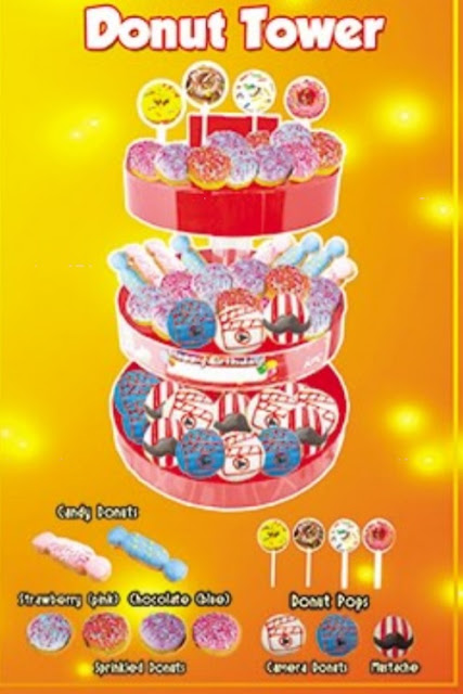 KFC Kiddie Party - Donut Tower