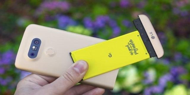 Thay pin LG G5 chính hãng