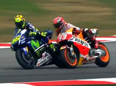 Pihak Sepang Akui Untung Besar dari Seteru Rossi vs Marquez
