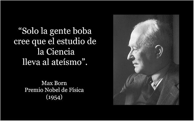 citas ciencia y fe max born
