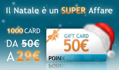 Poinx gift card