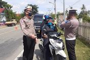Kasatlantas Polres Pidie Jaya Akan Tindak Tegas Kendaraan Dinas Plat Merah Dihitamkan
