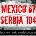 La selección mexicana toma aprendizaje ante Serbia 67-104