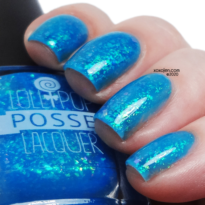 xoxoJen's swatch of Lollipop Posse 'Twas Brillig