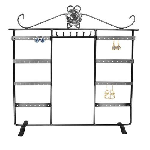 #PEW113 Metal Wire Earring and Necklace Display Stand